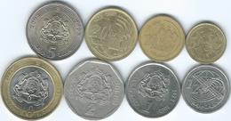 Morocco - Mohammed VI - 2002 - 5, 10 & 20 Santima; ½, 1, 2, 5 & 10 Dirhams (KMs 109, KM110 & KMs112-118) - Marocco