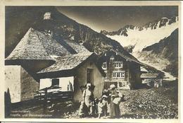 Goescheneralp (Uri, Svizzera) Kapelle Und Dammagletscher, Berggasthaus, Animata - UR Uri