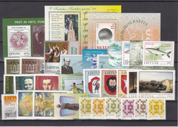 Lithuania 1998 - Full Year MNH ** - Lituanie