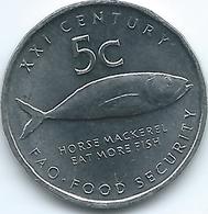 Namibia - 2000 - 5 Cents - FAO - KM16 - Namibia