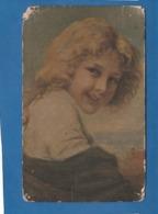 CARTE TABLEAU PORTRAIT D'UNE JEUNE FILLE - Paintings
