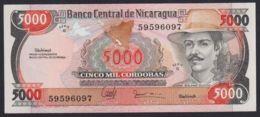 Ref. 2221-2644 - BIN NICARAGUA . 1985. NICARAGUA 5000 CORDOBAS 1985 - Nicaragua