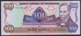 Ref. 2219-2642 - BIN NICARAGUA . 1985. NICARAGUA 500 CORDOBAS 1985 - Nicaragua