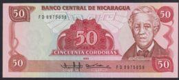 Ref. 2217-2640 - BIN NICARAGUA . 1985. NICARAGUA 50 CORDOBAS 1985 - Nicaragua