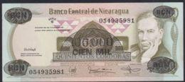 Ref. 2213-2636 - BIN NICARAGUA . 1987. NICARAGUA 100000 CORDOBAS 1987 - Nicaragua