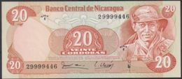 Ref. 2201-2624 - BIN NICARAGUA . 1979. NICARAGUA 20 CORDOBAS 1979 - Nicaragua