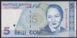 Ref. 2108-2531 - BIN KYRGYZSTAN . 1997. KYRGYZSTAN 5 SOM 1997 - Kirghizistan
