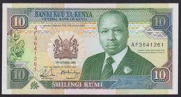 Ref. 2058-2481 - BIN KENYA . 1989. KENYA 10 SHILLINGS 1989 - Kenia