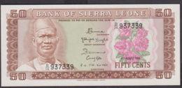 Ref. 1961-2384 - BIN SIERRA LEONE . 1984. 50 LEONES SIERRA LEONA 1984 - Spagna