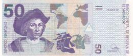 Ref. 1364-1786 - BIN EL SALVADOR . 1997. EL SALVADOR 50 COLONES 1997 - El Salvador