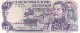 Ref. 1359-1781 - BIN EL SALVADOR . 1979. EL SALVADOR 50 COLONES 1979 - El Salvador