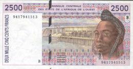 Ref. 947-1369 - BIN FRENCH WEST AFRICA . 1994. ETATS DE L' AFRIQUE DE L'OUEST 10000 FRANCS 1994 - Westafrikanischer Staaten