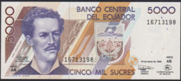 Ref. 836-1258 - BIN ECUADOR . 1999. ECUADOR 5000 SUCRES 1999 - Ecuador