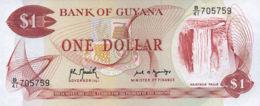 Ref. 650-1050 - BIN GUYANA . 1992. 1 DOLLAR GUYANA 1992. 1 DOLLAR GUYANA 1992 - Guyana