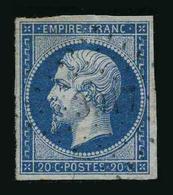 FRANCE - YT 14B - SECOND EMPIRE NAPOLEON III - TIMBRE OBLITERE - PC 3917 - 1853-1860 Napoléon III