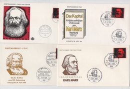 MARX Lot 4 Cover Germany Philosopher Journalist Capital Economic - Karl Marx