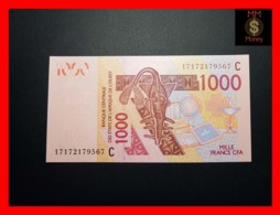 WEST AFRICAN STATES WAS C  BURKINA FASO 1.000 1000 Francs 2017 P. 315 Cq  UNC - Westafrikanischer Staaten