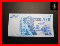 WEST AFRICAN STATES WAS C  BURKINA FASO 2.000 2000 Francs 2017 P. 316 Cq   UNC - Westafrikanischer Staaten