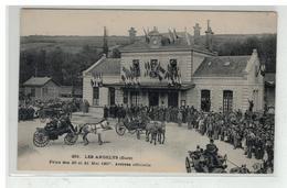 27 LES ANDELYS FETES DES 20 ET 21 MAI 1907 ARRIVEE OFFICIEL - Les Andelys