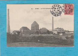 Épinac-lès-Mines ( Saône-et-Loire ). - Le Puits Hottinguer Et La Gare. - Andere Gemeenten