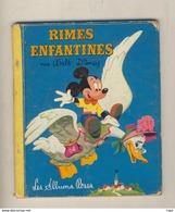 Les Albums Roses Walt Disney RIMES ENFANTINES De 1957 - Disney