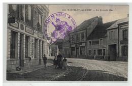 27 MARCILLY SUR EURE LA GRANDE RUE N° 208 + CACHET FORET DE DREUX EXPLOITATION EDIT MOOS - Marcilly-sur-Eure