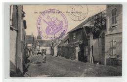 27 MARCILLY SUR EURE RUE PRINCIPALE N° 206 + CACHET FORET DE DREUX EXPLOITATION EDIT MOOS - Marcilly-sur-Eure