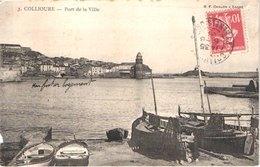 FR66 COLLIOURE - Bf Chalon 3 - Port De La Ville - Barques De Pêche Filets - Collioure