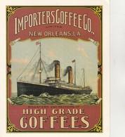 Carte PUB COFFEES 19 Cm X 15.5cm - Unclassified