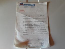 Document Motobecane 08 Ardennes Carignan  1977 Vélosolex Etc.... - France
