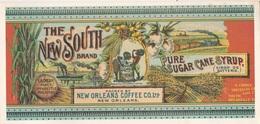 Carte PUB THE NEW SOUTH Brand  30 Cm X 14 Cm - Unclassified