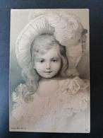 Jeune Fille. Illustrateur. Style Viennoise. Série 654 Nr 5. - Fantasia