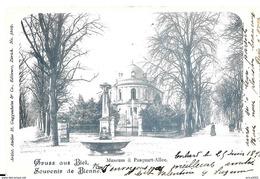 BE Berne. Bienne, Museum & Pasquart Allée En 1898. - BE Berne