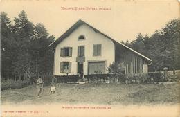 CPA 88 Vosges RAON L'ETAPE ETIVAL MAISON FORESTIERE DES CHATELLES N°8745 AD.WEICK.ST DIE C.M  VOIR IMAGES - France