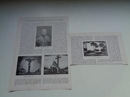 """Origineel Knipsel ( 2219 ) Uit Tijdschrift """" Ons Volk """"  1930 :    Missionaris Van Scheut  Gheel   Geel - Vieux Papiers"""