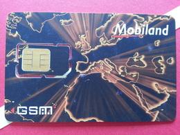 ANDORRE SIM GSM MOBILAND Puce Découpée Numbers Behind USIM RARE MINT ? (BH1219b - Andorra