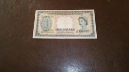 MALAYA AND BRITISH BORNEO 1 DOLLAR 1953 - Altri – Asia