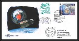 3816/ Russie Russia 12/04/2001 Gagarin Gagarine Espace Space Raumfahrt Lettre Cover Briefe Cosmos - Covers & Documents