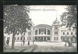 AK Klagenfurt, Blick Auf Den Hauptbahnhof - Autriche