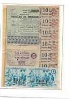 Tickets De Rationnement,Doubs,Besançon - Autres Collections
