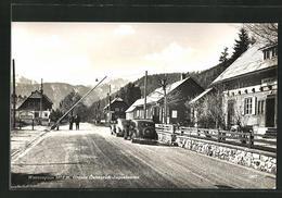 AK Wurzenpass, Grenze Österreich-Jugoslawien - Autriche