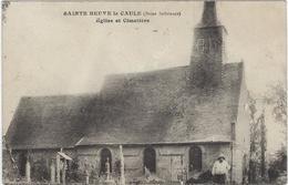 76  Sainte Beuve Le Caule   Eglise Et Cimetiere - Altri Comuni