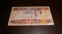 SOLOMON IS 20 DOLLARS 1977 - Isola Salomon