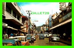 PORT-OF-SPAIN, TRINIDAD - FREDERICK STREET ANIMATED, SHOPPING CENTRE - H.O. THOMAS - - Trinidad