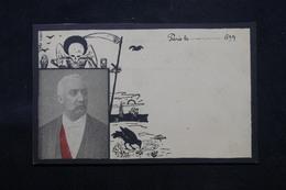 POLITIQUE - Carte Postale Satyrique Sur La Mort Du Président Félix Faure En 1899 - L 59154 - Satirisch