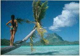 1 AK Französisch-Polynesien * Blick Von Einem Motu (eine Kleine Vorgelagerte Insel) Zur Insel Bora Bora * - Polynésie Française