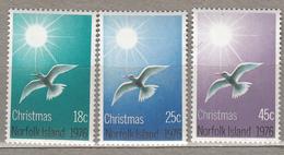 BIRDS Vogel Oiseaux 1976 Chistmas Norfolk Island Mi 181-183 MNH (**) #21180 - Ile Norfolk