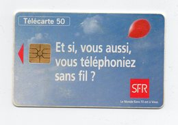 """Télécarte """" SFR """" - Téléphones"""