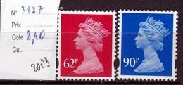 Timbres  Neufs ** Reine Elisabeth 2 Autoadhésifs - 1952-.... (Elizabeth II)