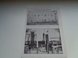 """Origineel Knipsel ( 2223 ) Uit Tijdschrift """" Ons Volk """"  1930 : Incidenten Aan De Leuvensche Hoogeschool  Leuven Louvain - Vieux Papiers"""